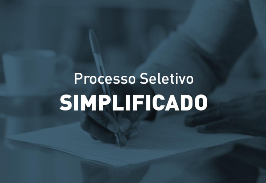Center processo seletivo simplificado
